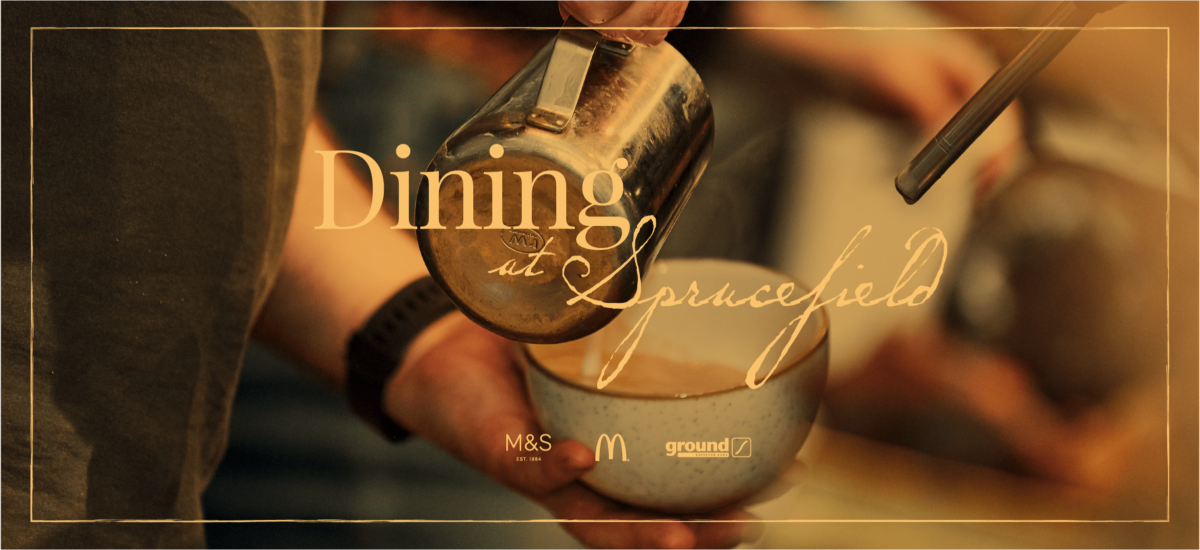 Dining at Sprucefield Banner 4