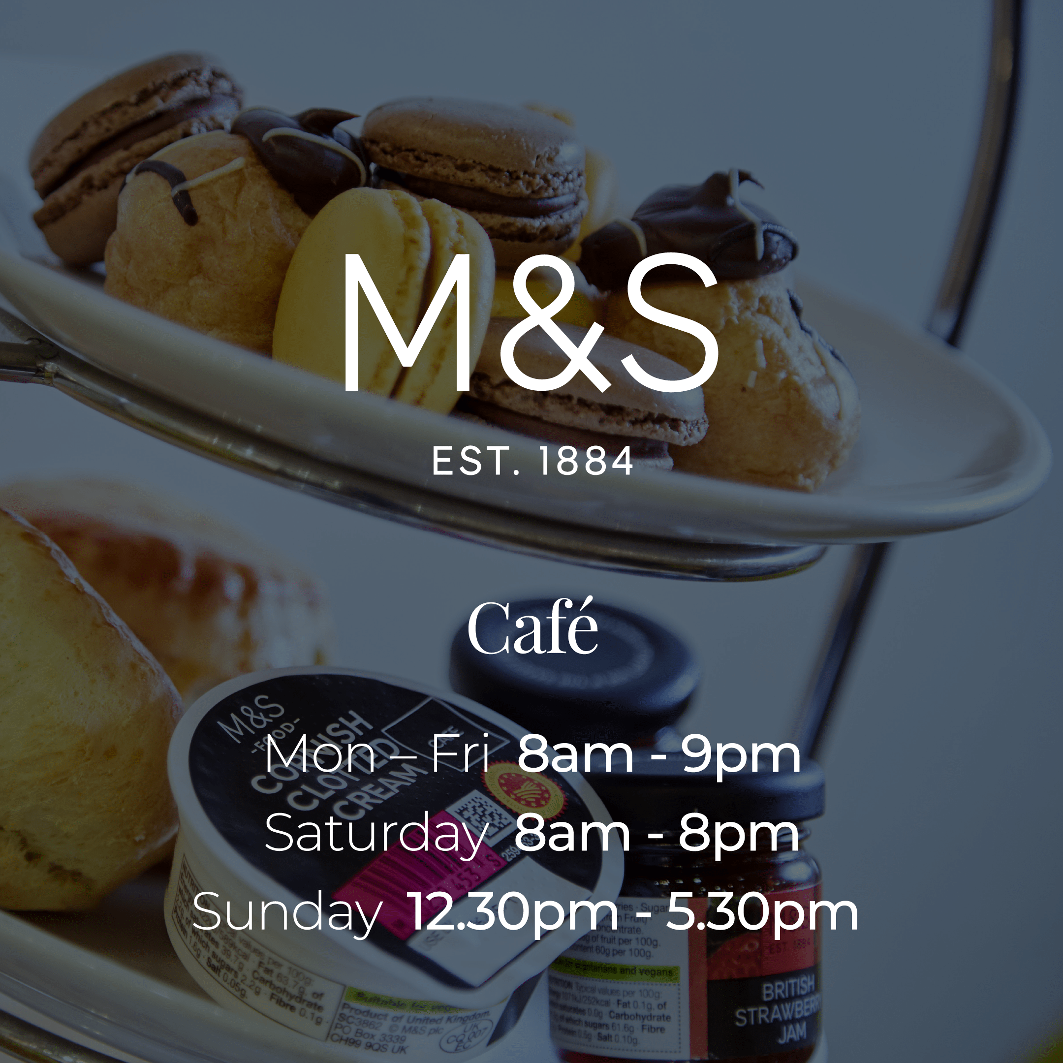 M&S Cafe Opening Hours